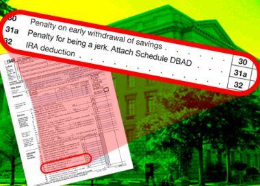 The DBAD Tax